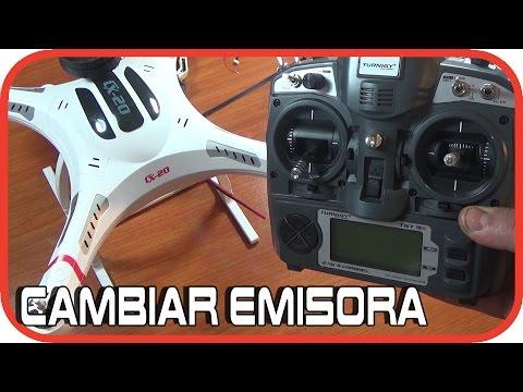 Cheerson Cx20: Sustituir emisora a por una Turnigy 9X ó FlySky FS Th9X en Español