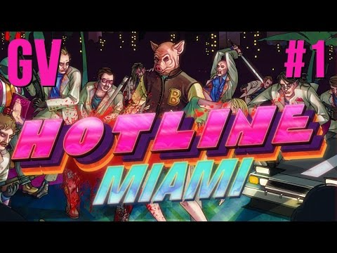 Let's Play Hotline Miami Part 1 - Ring Ring video