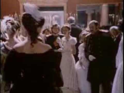 """Встреча Базарова и Одинцовой на балу (""""Отцы и дети"""", фильм 1983)"""