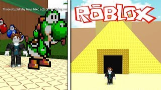 MARIO IN ROBLOX!