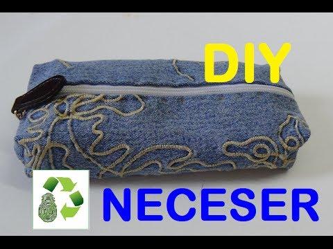 70. DIY PEN CASE (ESTUCHE-LAPICERO) RECICLAJE DE TELA