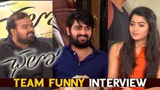 Chalo Movie Team Sankranthi Special Funny Interview | Naga Shaurya,Rashmika Mandanna