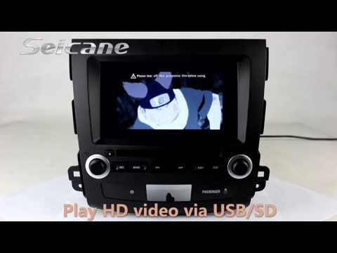 Aftermaket 2006-2011 MITSUBISHI Outlander dvd gps android 4.4.4 car stereo support bluetooth USB SD