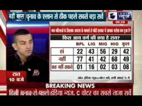 Badi Bahas: Big survey before the polls in Delhi