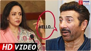 When Sunny Deol TALKED To Hema Malini First Time For Dimple Kapadia | Prime Flashback | EPN