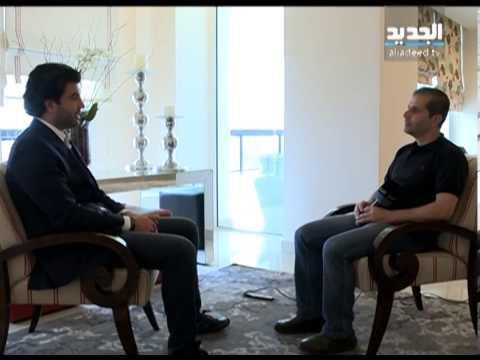 سوني سعد هدية جاي غروب وقناة الجديد للمنتخب اللبناني