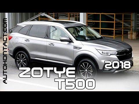 Убийца LADA Vesta SW Cross - новый SUV 2018 Zotye T500 на русском
