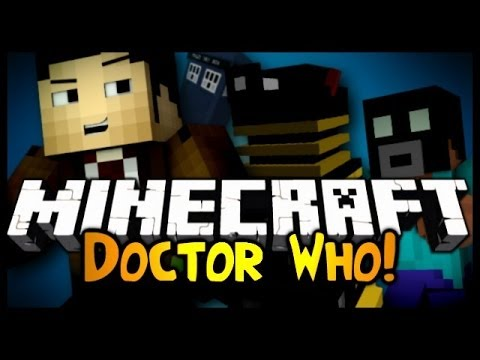 Minecraft: Mod Showcase DOCTOR WHO 1.6.4