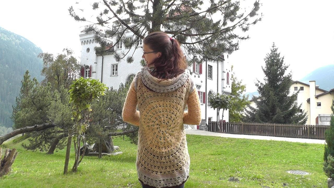 How to crochet a vest 8