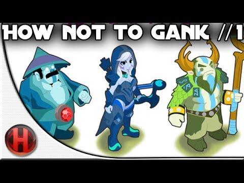 Dota 2 - How NOT to gank #1