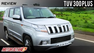 Mahindra TUV300 Plus Review | 9 Seater SUV | Hindi | MotorOctane