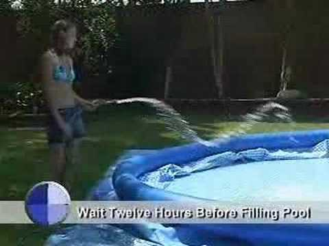 how to fix above ground pool leak