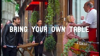 The World's First 'Bring Your Own Table' Restaurant