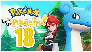TOP VIER Lorelei und Lapras VS. Team Rocket | Pokemon Let's Go Pikachu Part 18