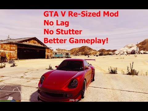 GTA V RE-Sized V5.5 ( Estável )