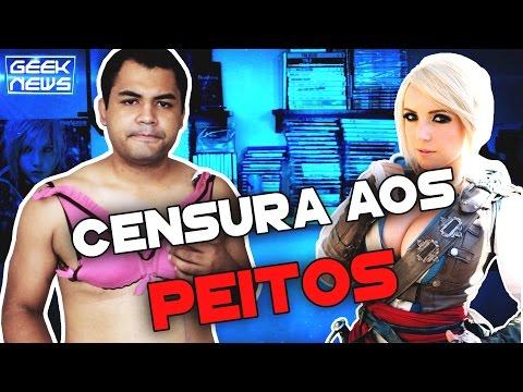 PEITOS CENSURADOS NO TWITCH - Geek News | Platina