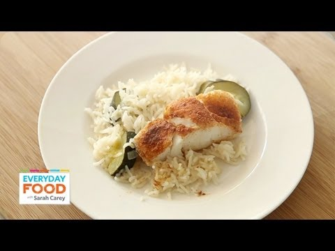 Fish recipe with homemade spice rub and lemony rice one for Homemade fish food