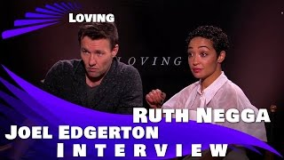 LOVING - Joel Edgerton and Ruth Negga Interview