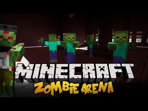 Minecraft - Zombie Arena - FACEPALM EPISODE ft. Mandzio [HARD]