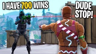 I Caught A HACKER WITH AIMBOT LYING About His Wins On Fortnite (He GOT BANNED)