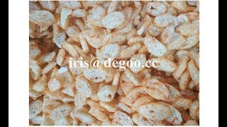 Crispy wheat bread chips pan/cracker food extruder machine/production line
