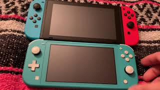 Nintendo Switch Lite Turquoise Unboxing