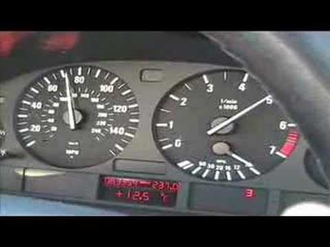 BMW 530i acceleration