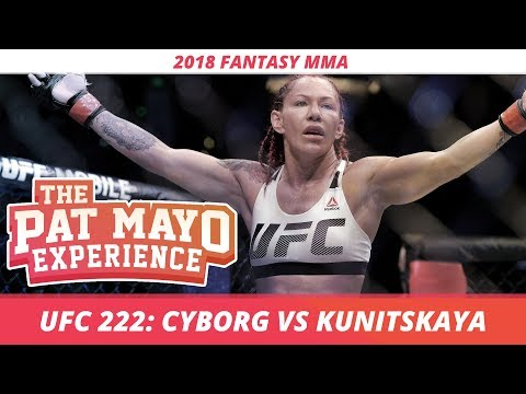2018 Fantasy MMA: UFC 222 DraftKings Picks and Fight-By-Fight Preview