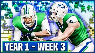 ALTERNATE JERSEYS! - NCAA Football 14 Teambuilder Dynasty Year 1 - Week 3 vs New Mexico   Ep.6