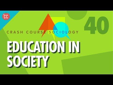 Education In Society Crash Course Sociology 40