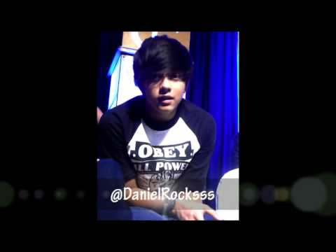 DJ's greeting for Daniel Rocks!! (LA)