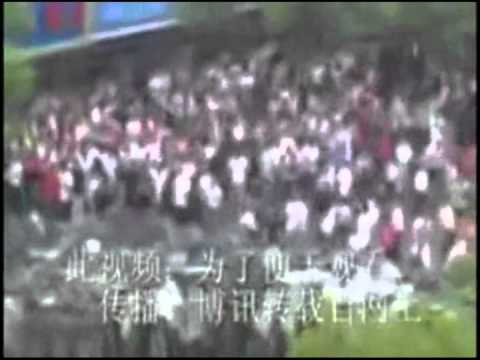 Protests in Inner Mongolia  5-31-2011