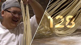 This Chef Can Make 128 Noodles in 10 Seconds