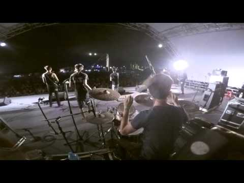 ATTACK BEFORE-People like us are different DRUM CAM(山海屯音樂節2015)