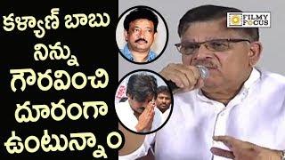Allu Aravind Press Meet on Sri Reddy and Pawan Kalyan Controversy   Ram Gopal Varma
