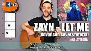 Download Lagu ZAYN - Let Me (guitar cover with lyrics and chords) (MusicSheet link) Advanced Version! Gratis STAFABAND