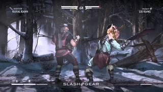 Liu Kang vs Kotal Kahn : Mortal Kombat X
