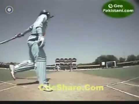 Ms Dhoni Helicopter Shot (awesome Shot Forever) video