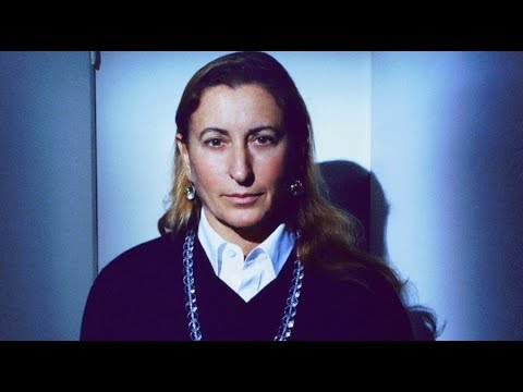 Miuccia Prada | Italian fashion designer | Glamour Diaries | Fashion Files