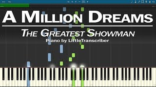 Download Lagu The Greatest Showman - A Million Dreams (Piano Cover) by LittleTranscriber Gratis STAFABAND