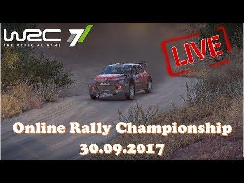 WRC 7 - фановый онлайн чемпионат по ралли 30.09.2017