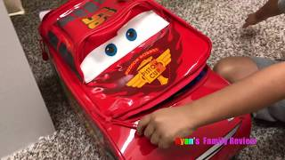 Kid Packing for Disney World Family Fun Vacation Trip with Ryan