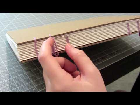 How to Make a Sketchbook: Coptic Stitch