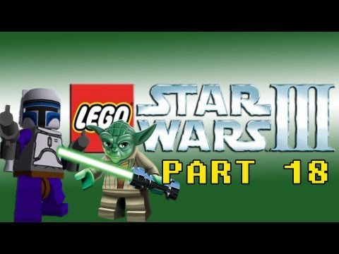 Gaming with the Kwings - Lego Star Wars 3 part 18 (Wii) co-op