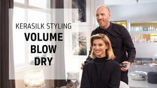 Style effortless, luxurious, blown-out hair | Kerasilk Hairstyling Series | Goldwell Education Plus