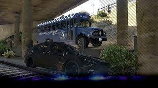 [GTA V: Heist] Steel een gevangenis bus - Prison Break - Ep2 (GTA5)