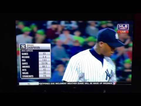 """Aroldis Chapman back with Yankees"""