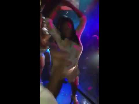 Booty shaking contest at aqua last night