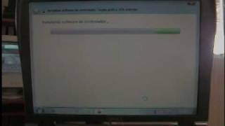 Dell C400 Video Instalacion Win7 parte 1