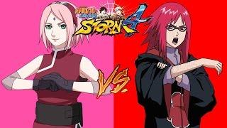Sakura vs Karin | NSUNS4 (Japones)